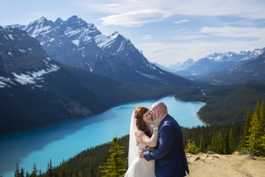 Banff Wedding - Heather and John