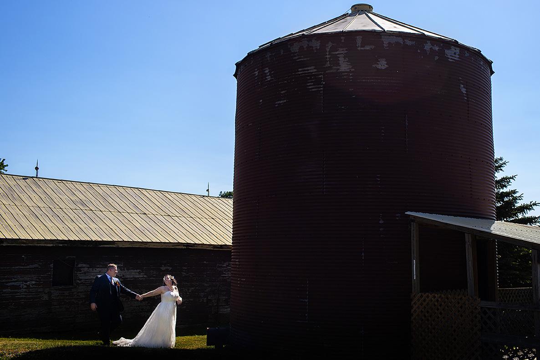 Dyments Farm Wedding - Michelle and Josh