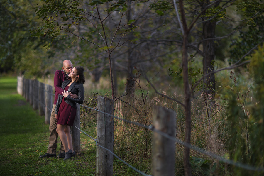 Engagement Shoot in Scarborough Bluffs | Tracy and Halim