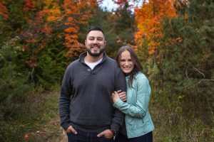 Mono Cliffs Fall Engagement Shoot with Alex and Matt_001