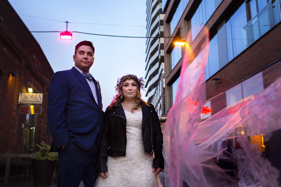 Distillery District Wedding | Ryan and Chantel