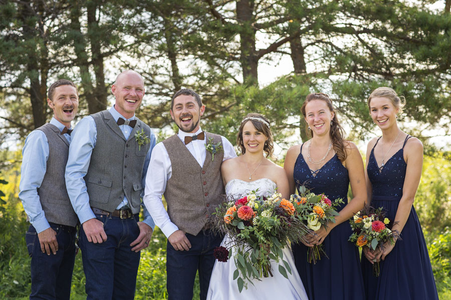 Orangeville Backyard Wedding